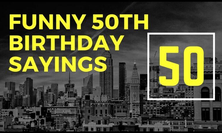 funny 50th birthday slogans | 50th birthday sayings | turning 50 slogans | funny 50th birthday hashtags | ideas for 50th birthday gifts