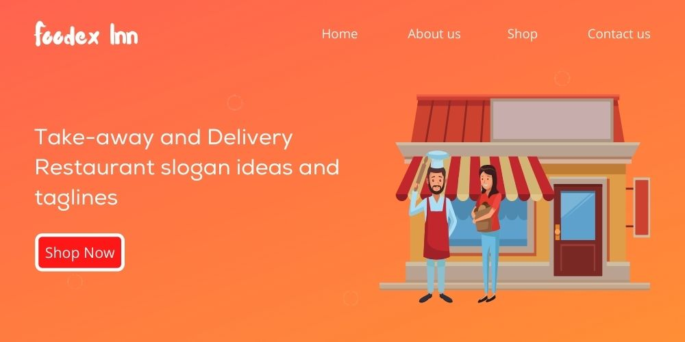 takeaway and delivery restaurants slogan ideas