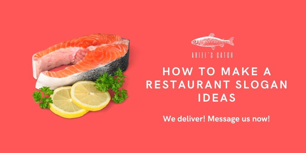 how to make restaurant slogan ideas