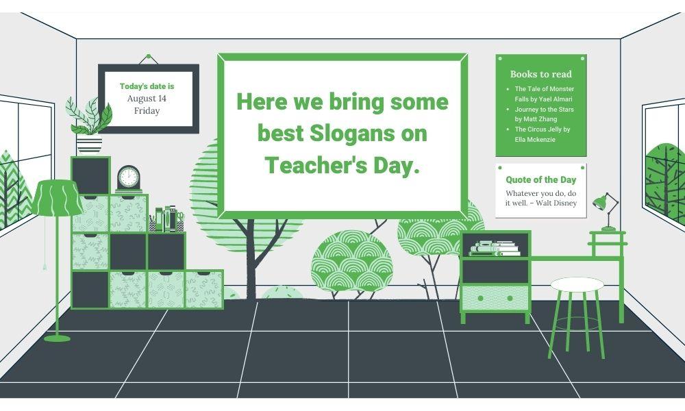 best slogans on teacher day