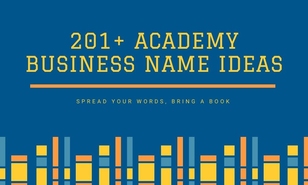 academy names ideas