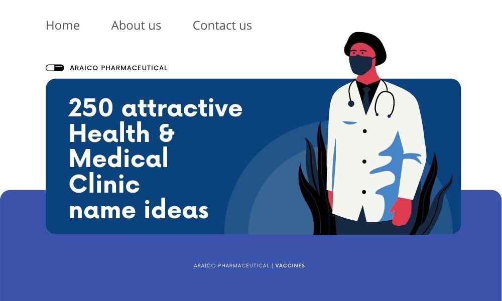 250 medical Clinic name Ideas