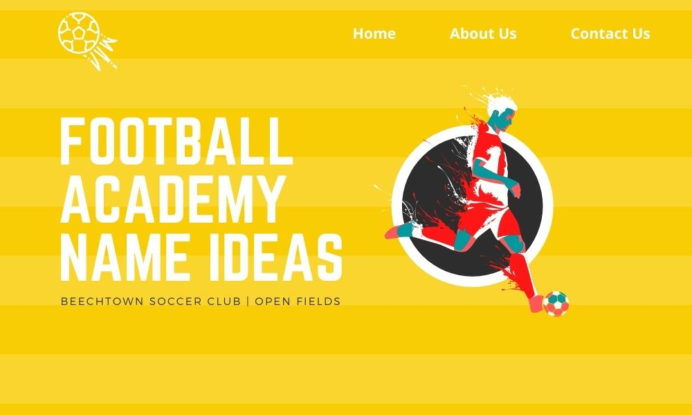 football academy name ideas