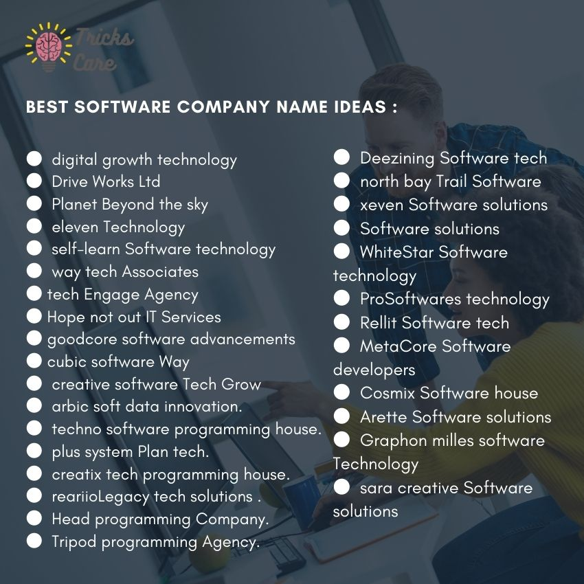 Best IT services company name ideas list