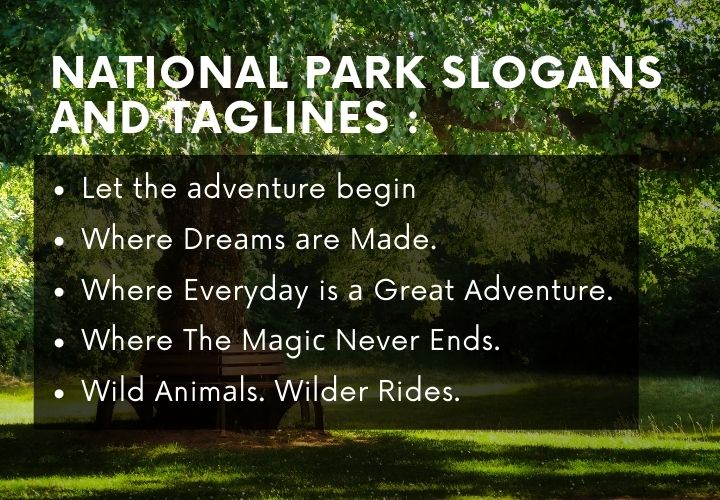 327 catchy Park Slogans And Taglines Ideas.