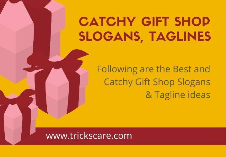 Best Gift Shop Slogans.