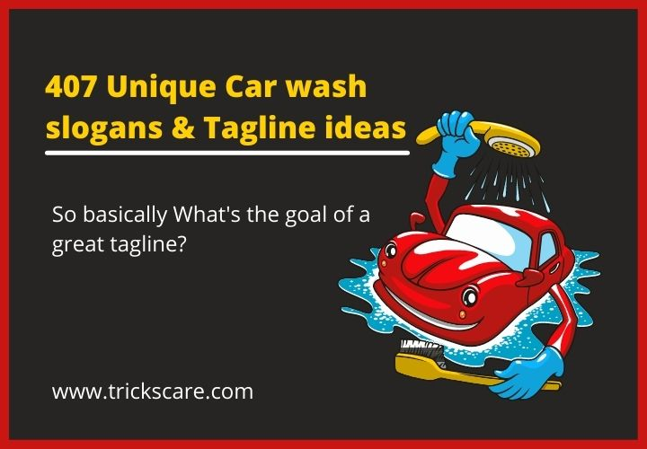 Unique car wash slogans