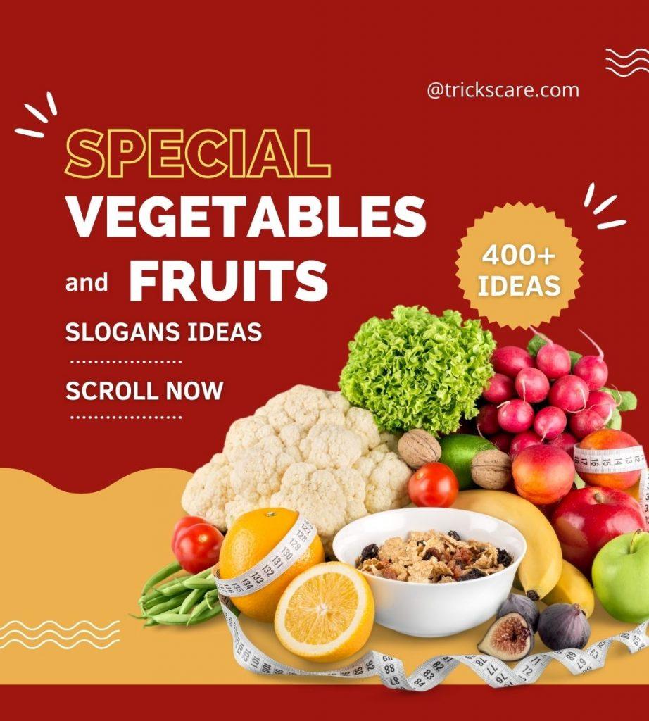 fruits and vegetables business-slogans